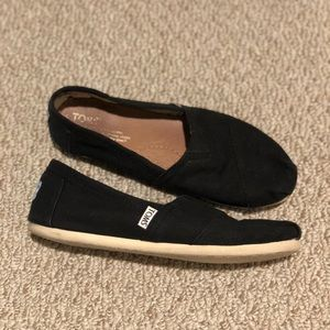 Toms Women's Classic Black Size 7.5